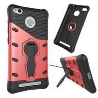 Armory odolný obal pre mobil Xiaomi Redmi 3S - červený