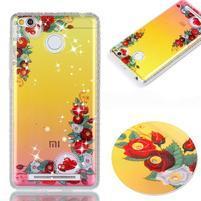 Patty gelový obal na Xiaomi Redmi 3S a 3 Pro - krásne kvety