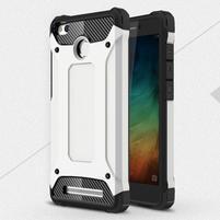 Guard odolný obal 2v1 na mobil Xiaomi Redmi 3S - biele