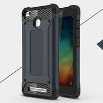 Guard odolný obal 2v1 na mobil Xiaomi Redmi 3S - tmavěmodrý