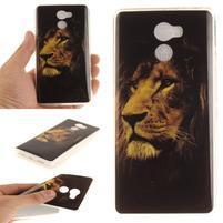 Softie gélový obal pre mobil Xiaomi Redmi 4 - král zvierat