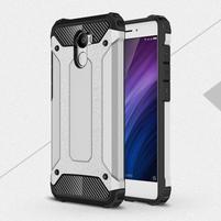 Guards odolný obal pre mobil Xiaomi Redmi 4 - strieborny