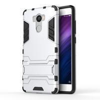 Defender odolný obal pre mobil Xiaomi Redmi 4 - strieborny