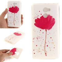 Softie gélový obal pre mobil Xiaomi Redmi 4 - kvetinka