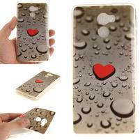 Softie gélový obal pre mobil Xiaomi Redmi 4 - srdce