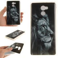 Softie gélový obal pre mobil Xiaomi Redmi 4 - lev