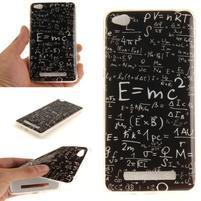 Emotive gélový obal pre mobil Xiaomi Redmi 4a - vzorečky