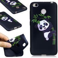 Motive gelový obal na Xiaomi Redmi 4X - panda na bambuse