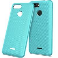 Twill gélový obal pre Xiaomi Redmi 6 - cyan