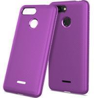 Twill gélový obal pre Xiaomi Redmi 6 - fialový