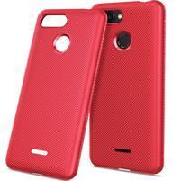 Twill gélový obal pre Xiaomi Redmi 6 - červený