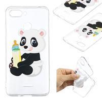 Print gélový obal na mobil Xiaomi Redmi 6 - malá panda