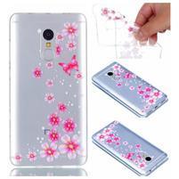 Embi gélový obal na mobil Xiaomi Redmi Note 4 - kvetinky