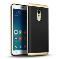 Ipaky 2v1 odolný obal na mobil Xiaomi Redmi Note 4 - zlatý