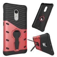 Armory odolný obal 2v1 pre Xiaomi Redmi Note 4 - červený