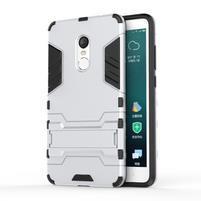 Defender odolný obal pre mobil Xiaomi Redmi Note 4 - strieborny