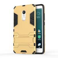 Defender odolný obal pre mobil Xiaomi Redmi Note 4 - zlatý