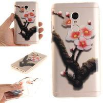 Patty gelový obal na Xiaomi Redmi Note 4 - broskyňový kvet