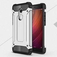 Guard odolný obal pre mobil Xiaomi Redmi Note 4 - strieborný