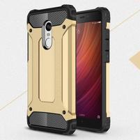 Guard odolný obal pre mobil Xiaomi Redmi Note 4 - zlatý
