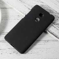 Matný gelový obal na Xiaomi Redmi Note 4 - čierny