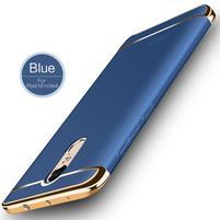 Hybridný 3v1 odolný obal na Xiaomi Redmi Note 4 - modrý