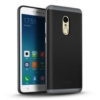 Ipaky 2v1 odolný obal na mobil Xiaomi Redmi Note 4 - sivý