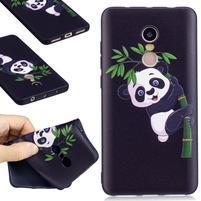 Bossi gelový obal na Xiaomi Redmi Note 4 - panda na bambuse