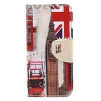 Emotive peňaženkové zapínacie puzdro na Xiaomi Redmi Note 4X - London
