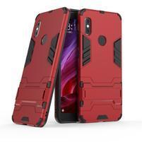 Defender hybridný odolný obal na Xiaomi Redmi Note 5 - červený