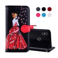 Flash PU kožené puzdro na Xiaomi Redmi Note 5 - čierne