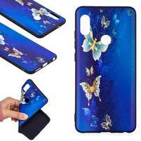 Bossi gélový obal na Xiaomi Redmi Note 5 - modré motýliky