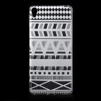 Ultratenký gélový obal pre Sony Xperia E5 - geo tvary