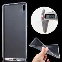 Ultratenký gélový obal pre mobil Sony Xperia XA Ultra - transparentné