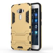 Odolný obal pre mobil Asus Zenfone 3 ZE520KL - zlatý