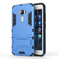 Odolný obal pre mobil Asus Zenfone 3 ZE520KL - svetlomodrý