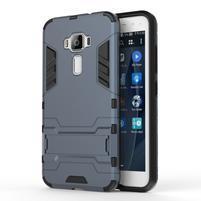 Odolný obal pre mobil Asus Zenfone 3 ZE520KL - šedomodrý