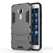 Odolný obal na mobil Asus Zenfone 3 ZE520KL - šedý