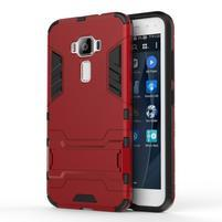 Odolný obal na mobil Asus Zenfone 3 ZE520KL - červený