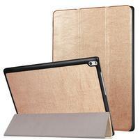 Case obal stojánkový na tablet Lenovo Tab 4 10 Plus - zlatý