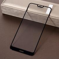 Celoplošné tvrdené sklo pre mobil Nokia 7.1 - čierny lem