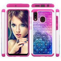 Patterned odolný obal na mobil Samsung Galaxy A20 / Galaxy A30 - mandala
