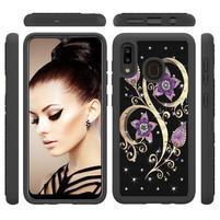 Patterned odolný obal na mobil Samsung Galaxy A20 / Galaxy A30 - kvety