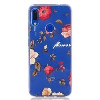 Pattern gélový obal na mobil Xiaomi Redmi Note 7 - rozkvitnuté kvety