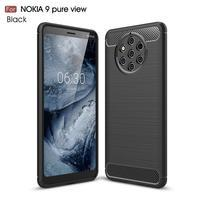 Fiber odolný gélový kryt na Nokia 9 PureView - čierny