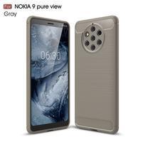 Fiber odolný gélový kryt na Nokia 9 PureView - sivý
