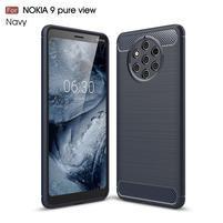Fiber odolný gélový kryt na Nokia 9 PureView - tmavomodrý