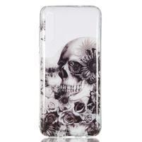 Patty gélový obal na Samsung Galaxy A70 - lebka