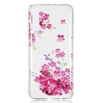 Patty gélový obal na Samsung Galaxy A70 - ružové kvety