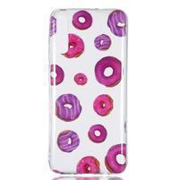 Patty gélový obal na Samsung Galaxy A70 - donuty